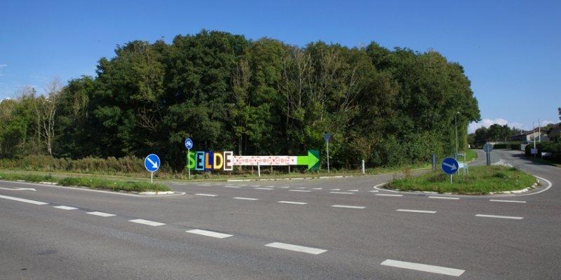 Skulpturlandsbyen Selde