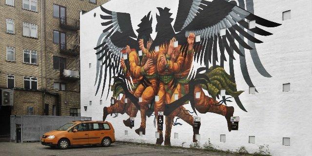 Murmalerier i Aalborg