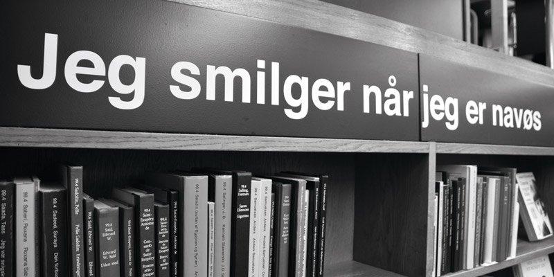 Ordblindt bibliotek