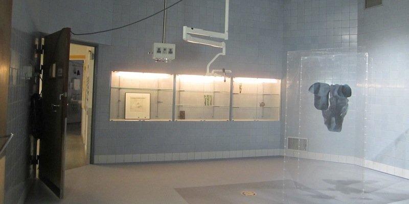 Nedlagt operationsgang forvandles til udstillingsrum