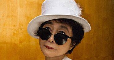 Yoko Ono udgiver fotobog i samarbejde med Tiger