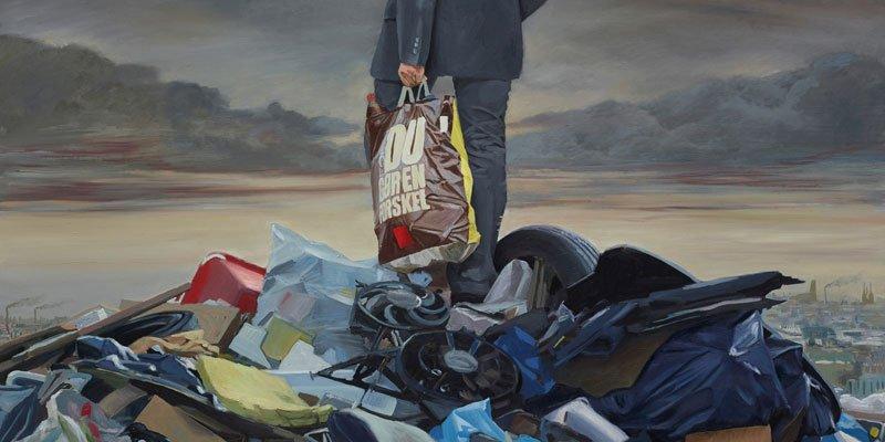 Affald i kunsten – genbrug #4