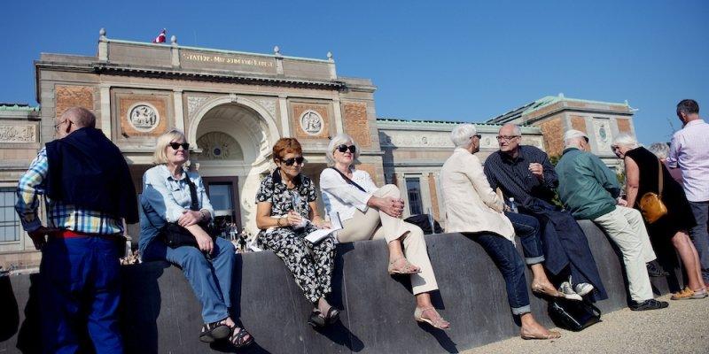 Stadig flere besøger de danske museer