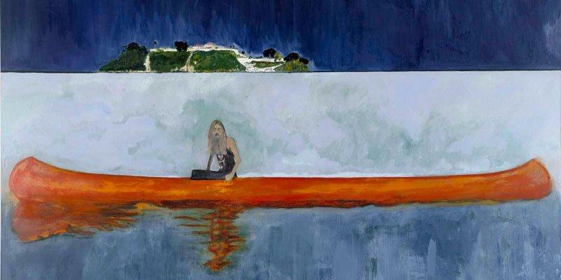Verden genfortryllet via maleriets flydende ekko