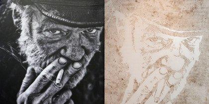 Beskidte portrætter af hjemløse vinder pris