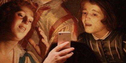 Med selfiekunsten på museum