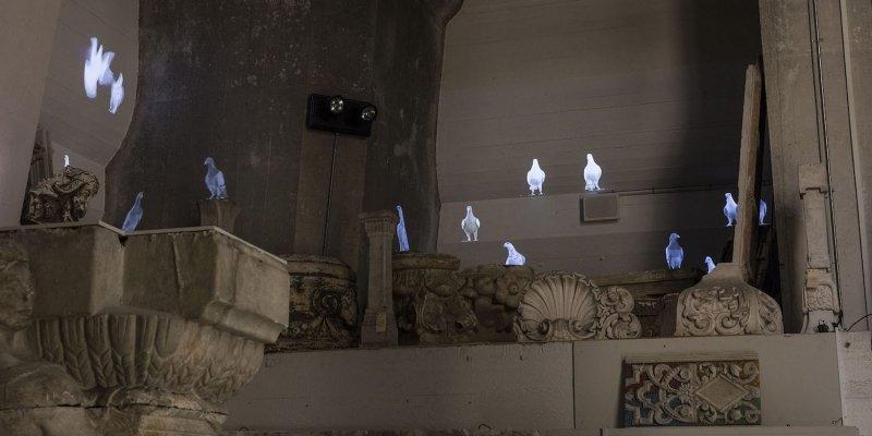 Duer i Tårnet – videoinstallation på Christiansborg