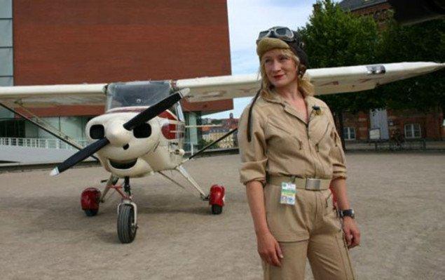 Fly-by på Frederiks Allé