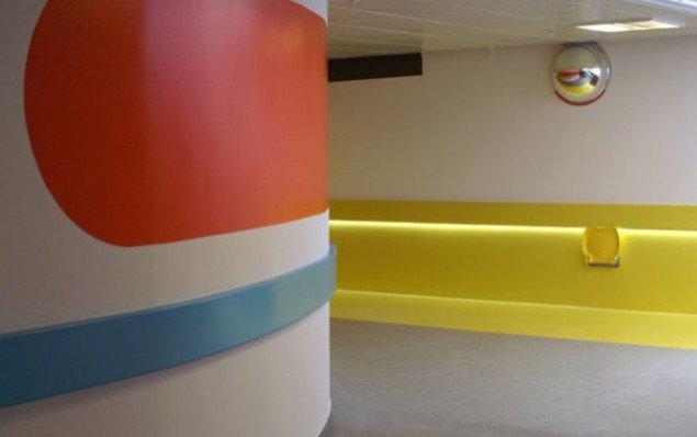 Frække farver på hospitalet