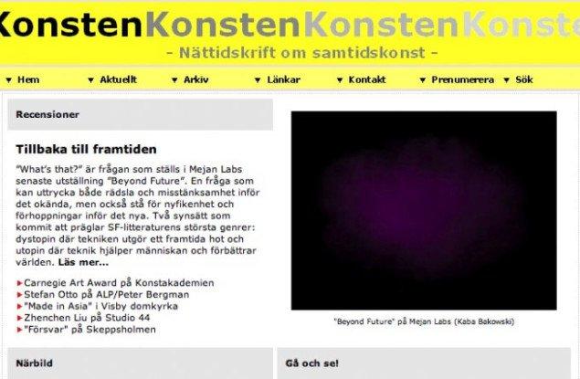 Svensk kunstmagasin fylder 10 år