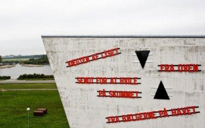 Verdenskendt kunstner udsmykker Arkens facade