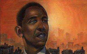 Obamas valgplakat til salg