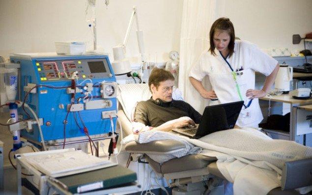 Åben by i sygesengen