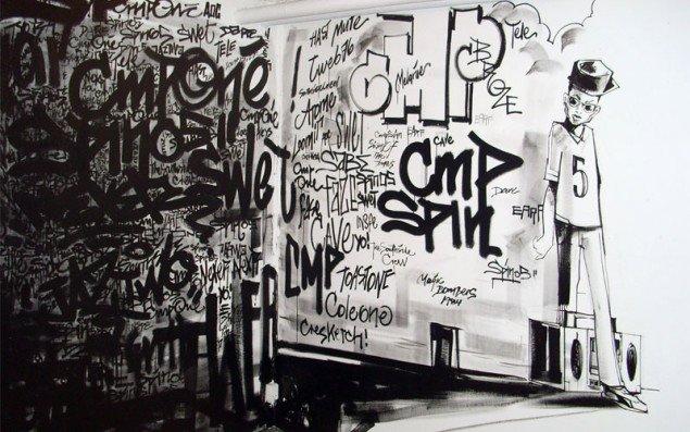 Skitser fra en graffitikunstner