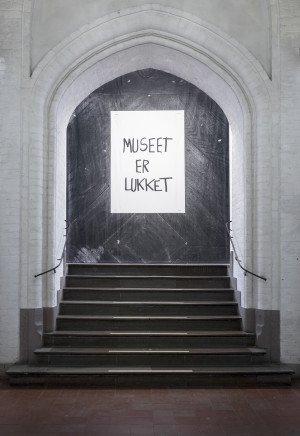 Museet er lukket – en udstilling om Knud Pedersen