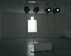 Ref. 2, 2001. Fire 1200 watt-projektorer. Foto: Bent Ryberg