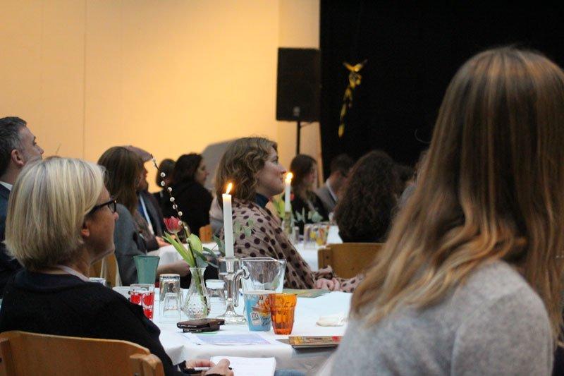Deltagere fra det danske institutionslandskab. (Foto: Marcelo Lerer)