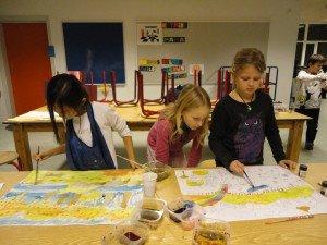 Billedskole for børn og unge (Foto: Karen Marie Demuth)