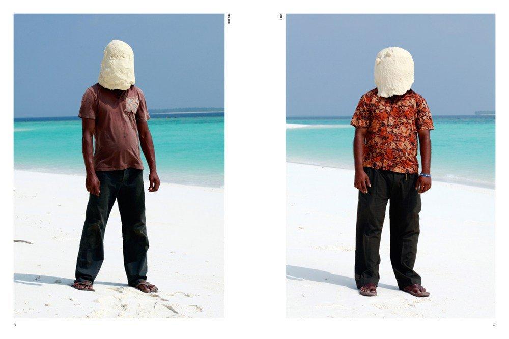Søren Dahlgaard: Dough Portraits, illustration fra bogen.