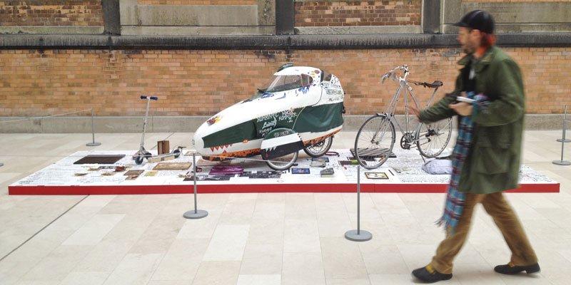 Goodiepal og hans installation på Statens Museum for Kunst. (SMK foto)