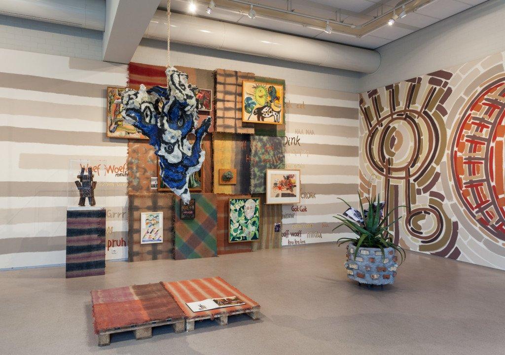 Installationsview, Hey Beast, CoBrA Musuem of Modern Art. (Foto: Peter Tijhuis)