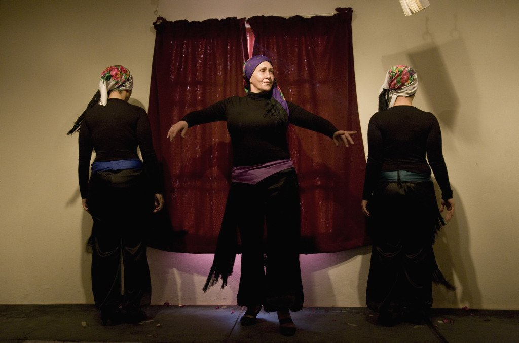 I projektet Scheherazade's Diary fra 2013 iscenesatte kvindelige fanger fra Baabda fængslet personlige oplevelser. Foto Dalia Khamissy og Catharsis-LCDT