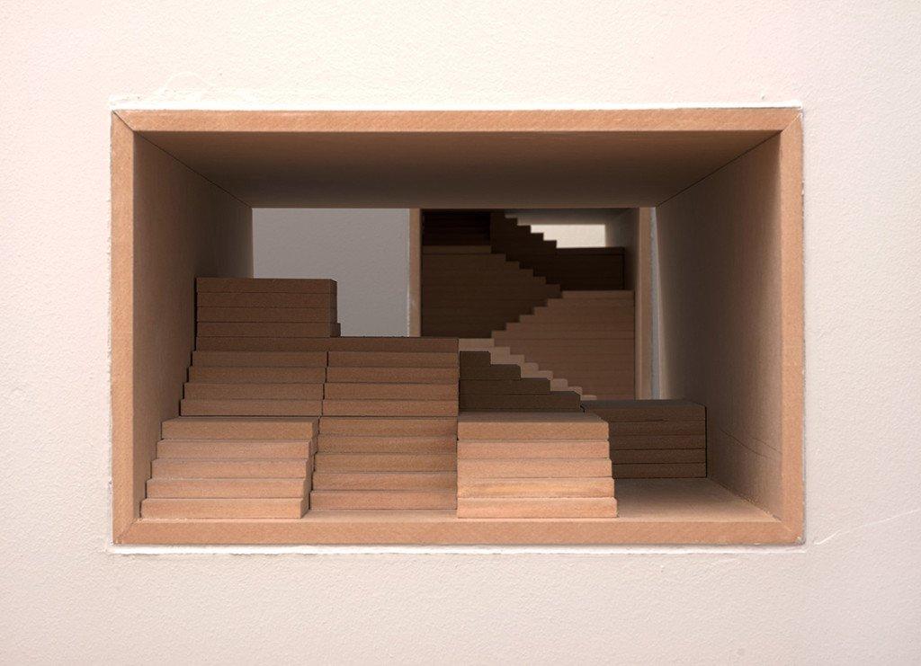 Jesper Rasmussen: Arkitektoner, 2015. Installationview. Foto: Kurt Nielsen
