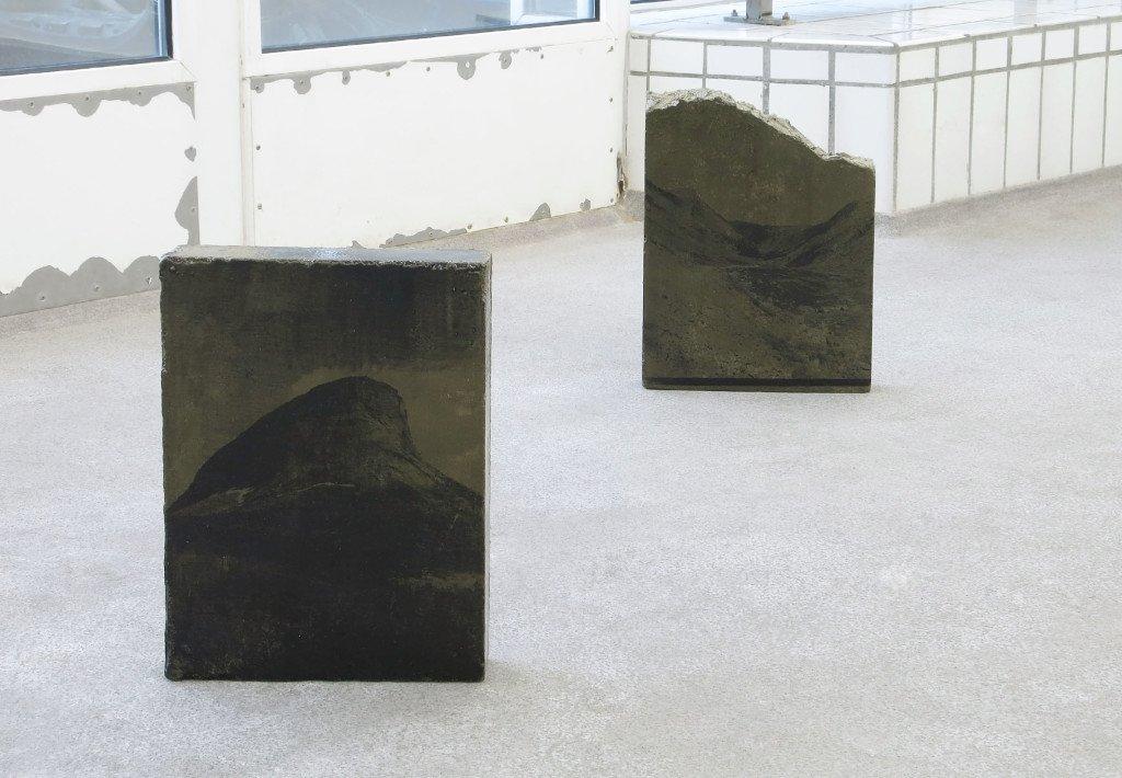 Mountain peak, downfall, zero, 2015. Foto: Ditte Knus Tønnesen
