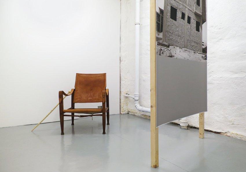 Installationsview fra udstillingen knock rock, 2013, Holodeck, Oslo. Foto: Ditte Knus Tønnesen