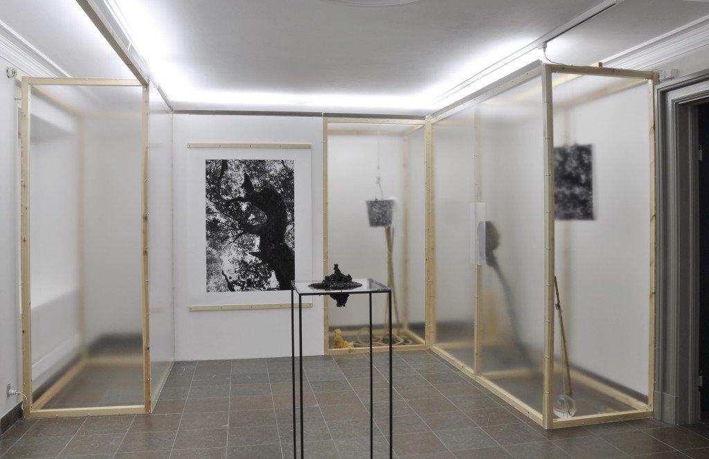 Installationsview i installation af Veo Friis Jespersen. Foto: Jens Markus Lindhe.