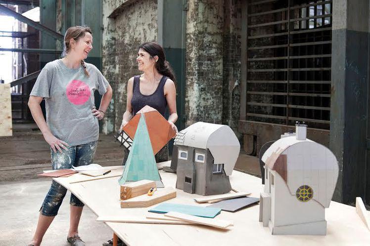 Randi & Katrine, Sydney Biennalen, 2014. Foto: Rick Carter