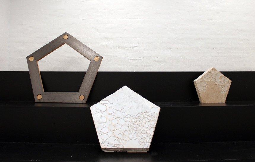 Geometriske former og meditative rum