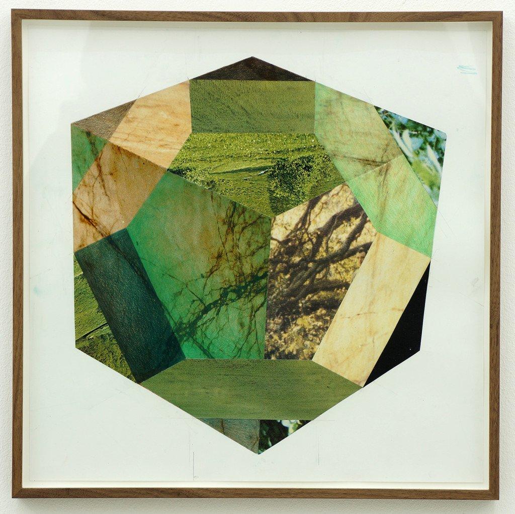Green, 2014. Blyant og fundne billeder. Foto: Jens Erdman Rasmussen
