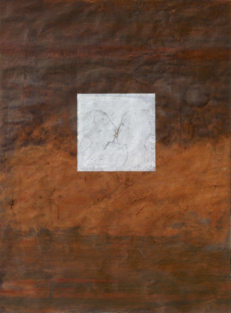 Jeg bliver et menneske igen, 1992. Gouache, 64 x 47.