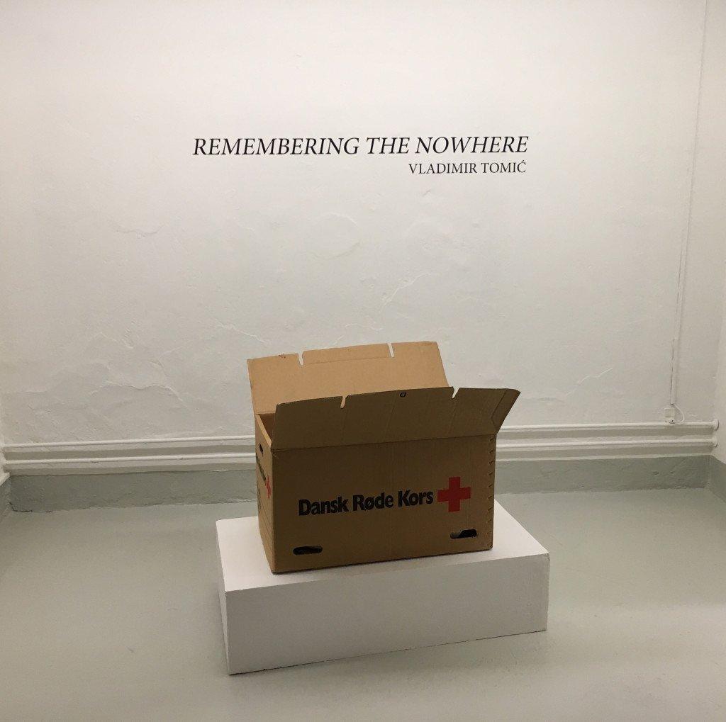 Vladimir Tomić: Remembering the Nowhere. Installationsview. Foto: Vladimir Tomic