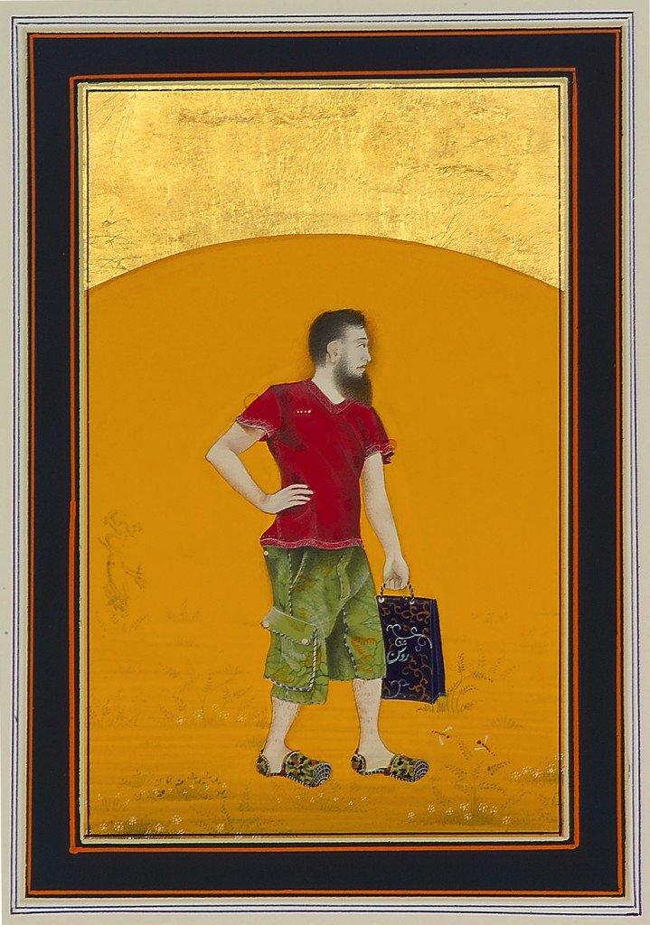 Imran Qureshi: Moderat oplysning, 2009. Foto: Kunsten