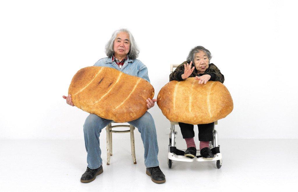 Tatsumi Orimoto: Breadman Son and Alzheimer Mama, 1996-2007 © artmama foundation