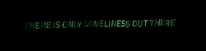 Værket består delvis af en række markante one-liners. Søren Thilo Funder, Futurist Youth (In Defense of Billy Cutshaw), 2016. Foto: Christian Meisels Asmussen