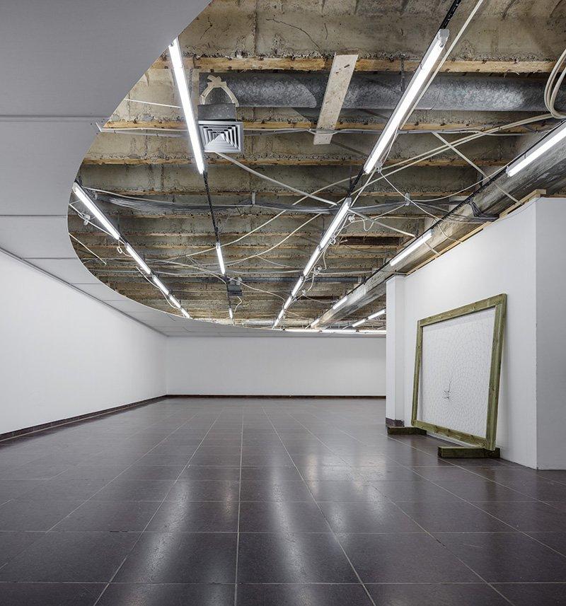 Periferi / Periphery, 2016. Loftinstallation, Xbunker. Foto: Anders Sune Berg