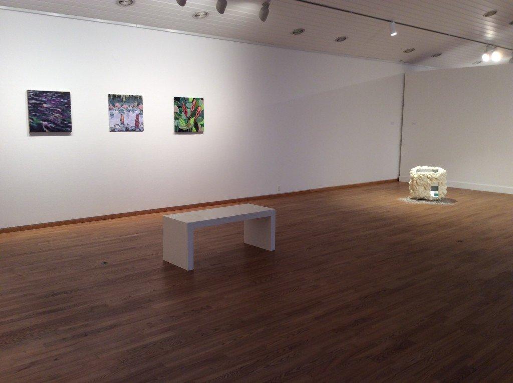 Installationsview fra udstillingen 50 x 50 x 50 på Kastrupgårdsamlingen