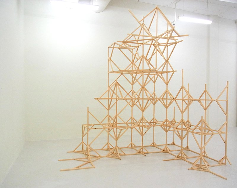 Growth Eats Growth, 2012. Installation, Esbjerg Kunstmuseum. Foto: Karin Lind