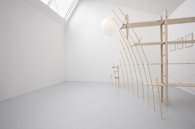 Joints and Voids, 2012. Installation, t e k s a s. Foto: Erling Lykke Jeppesen
