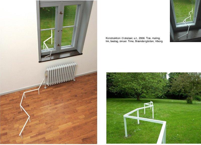 Time, u.t., 2006. Installation, Brænderigården, Viborg. Foto: Karin Lind