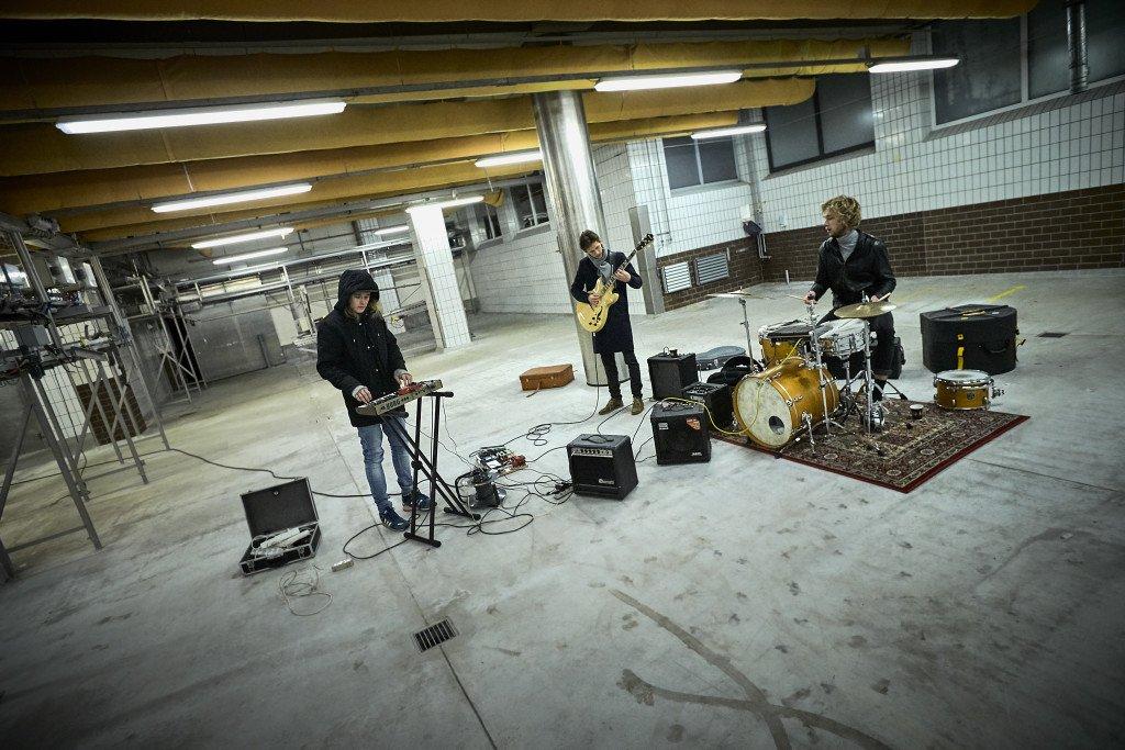 Musik, Sort Slagtegang. Foto: Kulturdivisionen Slagteriet Holstebro