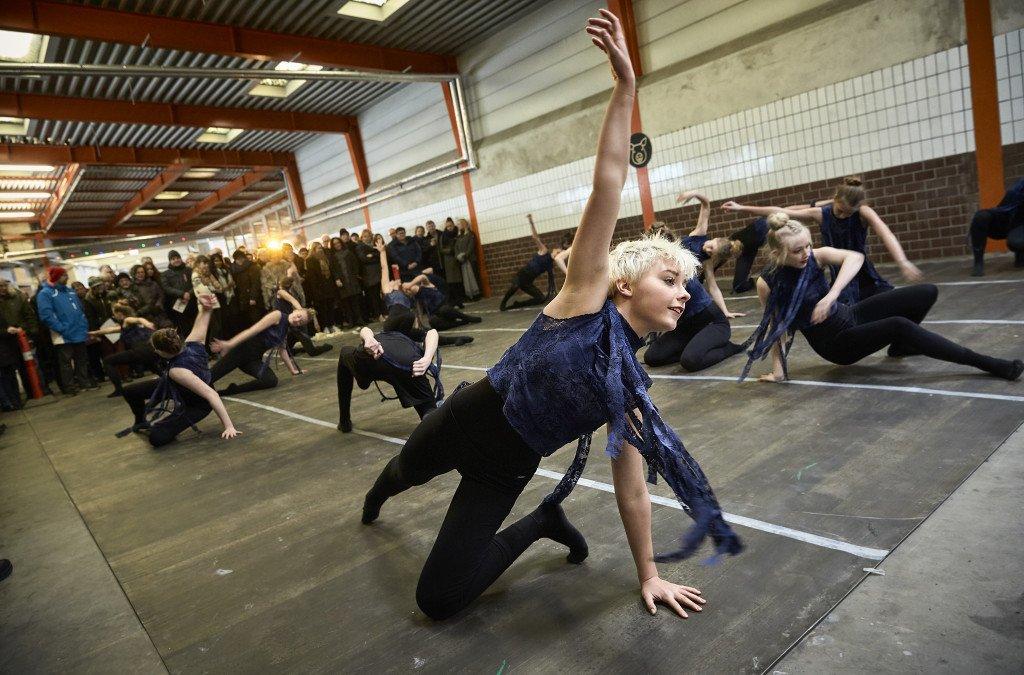 Dans, Sort Slagtegang. Foto: Kulturdivisionen Slagteriet Holstebro