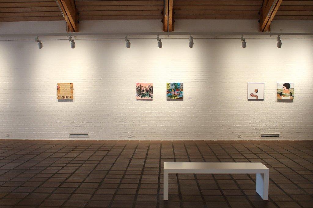 Installationsview: 50 x 50 x 50. Foto: Kastrupgårdsamlingen