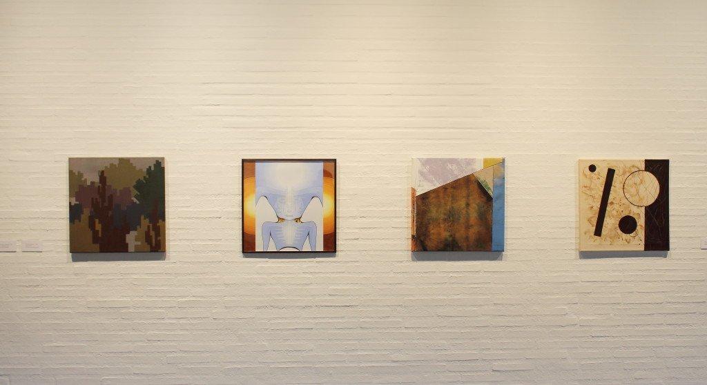 50 x 50 x 50 installationsfoto: Kastrupgårdsamlingen