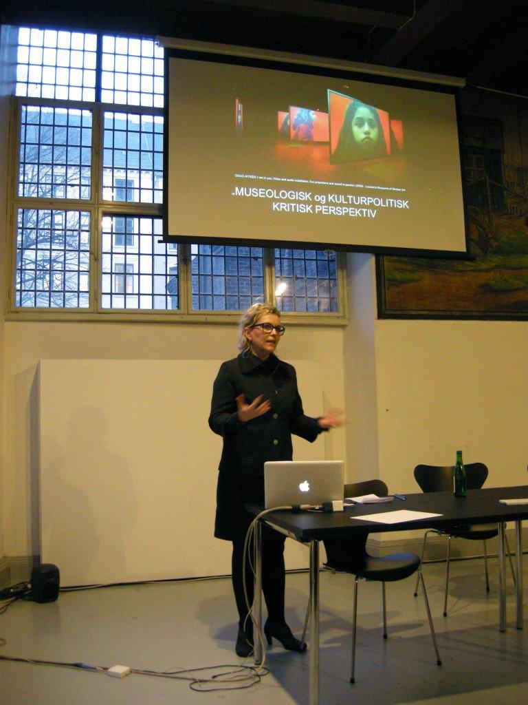 Ida Brændholt Lundgaard giver sit indspark til den nødvendige gentænkning af 'børneudstillingen'. Foto: Matthias Hvass Borello