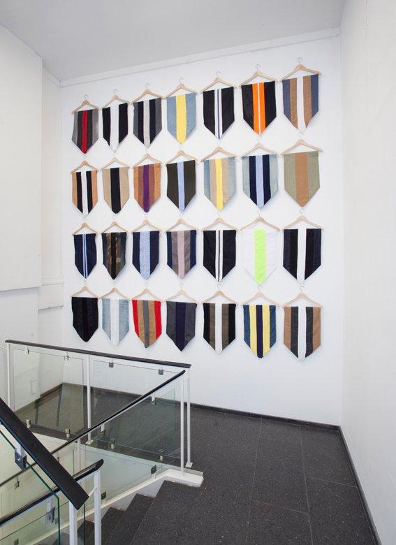 Uniforms, 2013. Installationsview, SPECTA. Foto: Erling Lykke Jeppesen