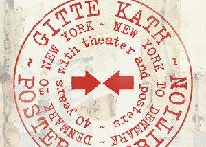 Gitte Kaths plakater 40 år